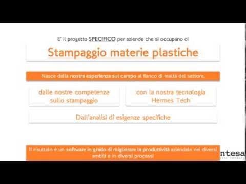 Embedded thumbnail for Il progetto software per le aziende di Stampaggio Materie Plastiche